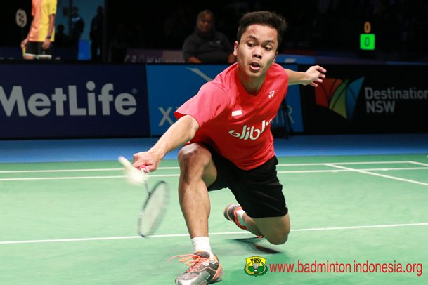 Anthony Ginting - Badminton Indonesia