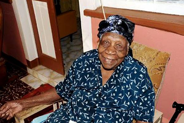 Violet diklaim sebagai manusia tertua di dunia - metro.co.uk