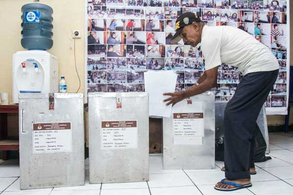 Pilkada DKI Jakarta Putaran ke dua (Ant)