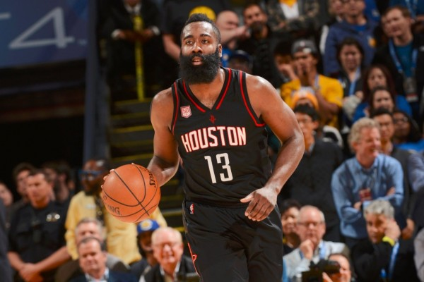 Bintang Houston Rockets James Harden - Twitter NBA