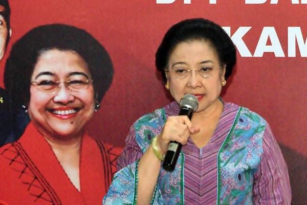 Ketua Umum PDI Perjuangan Megawati Soekarnoputri. - Antara/Atika Fauziyyah