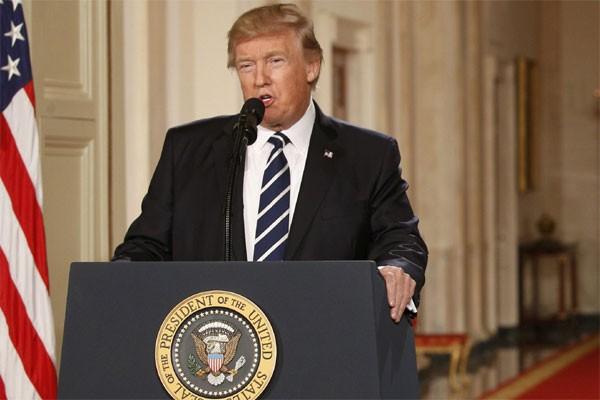 Presiden AS Donald Trump - Reuters/Kevin Lamarque