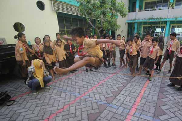 Komunitas Kampoeng Dolanan Lestarikan Permainan Tradisional
