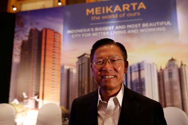 CEO Lippo Group James Riady saat peluncuran proyek Meikarta, di Jakarta, Kamis (4/5). - REUTERS/Darren Whiteside