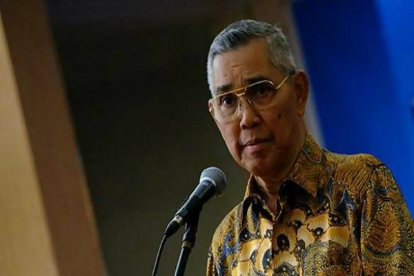 Wakil Presiden ke-6 RI Try Sutrisno - Antara