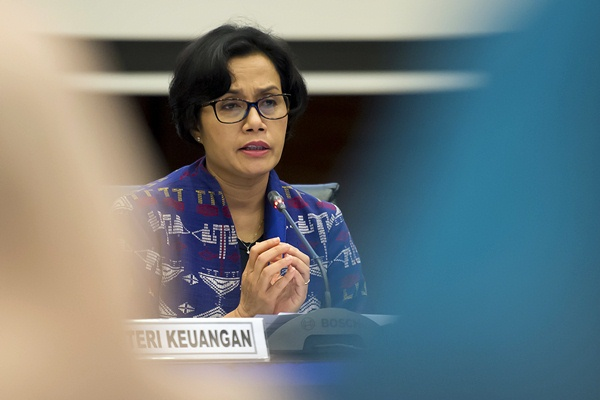 Menteri Keuangan Sri Mulyani Indrawati - Antara/Widodo S. Jusuf