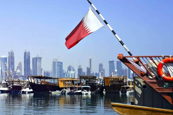Bendera Qatar - Istimewa