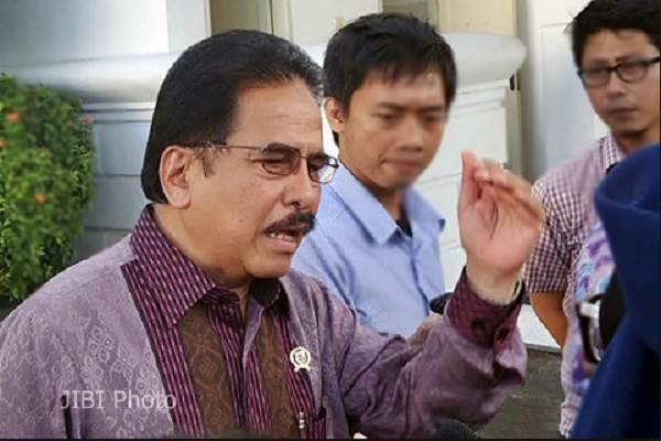 Sofyan Djalil dalam satu acara di Istana Kepresidenan Jakarta, Selasa (24/2/2015). - JIBI/Akhirul Anwar