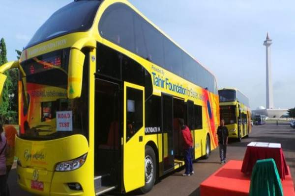 Bus wisata Transjakarta - Istimewa