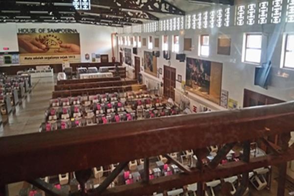Pabrik rokok nonfilter Dji Sam Soe di kompleks House of Sampoerna - Bisnis - Hadijah Alydrus