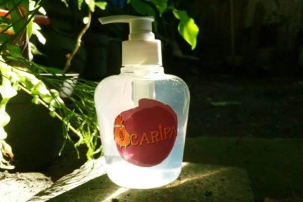Sabun cuci tangan dari biji pepaya mencegah diare. - Istimewa