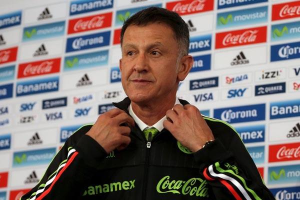 Pelatih Timnas Meksiko Juan Carlos Osorio - Reuters/Jorge Lopez