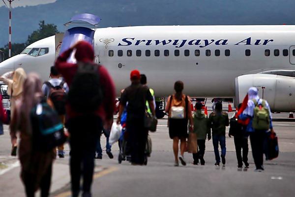Sriwijaya Air - JIBI/Nurul Hidayat