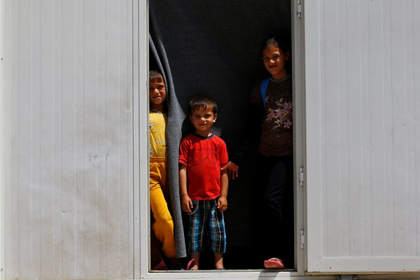 Anak-anak pengungsi Suriah di penampungan Turki - Reuters