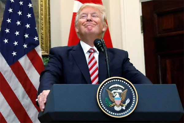 Presiden Amerika Serikat (AS) Donald Trump - Reuters