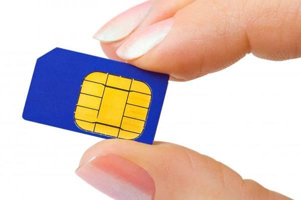 Ilustrasi SIM card. - JIBI