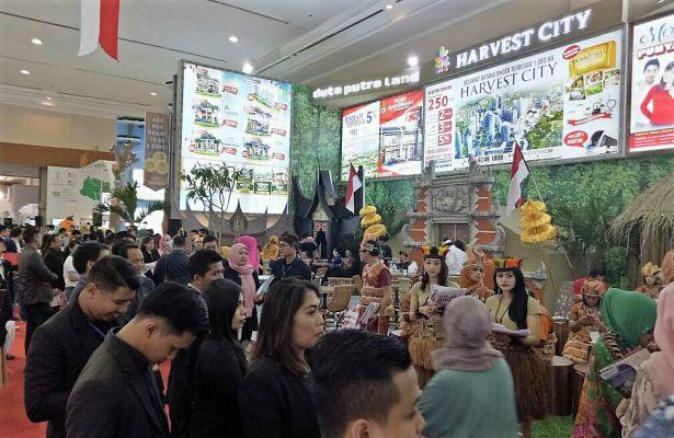 Hall Pameran Harvest City di IPEX 2017 - istimewa