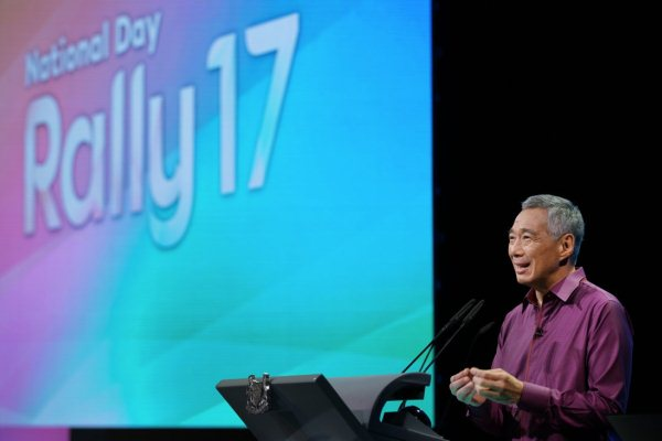 Perdana Menteri Singapura Lee Hsien Loong - Twitter