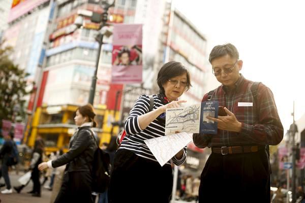 Turis Jepang - Istimewa