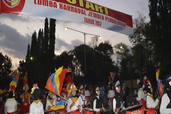 Karnaval tradisional Pandhalungan di Jember. - Dok Pemkab Jember