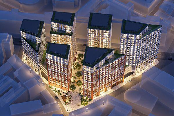 Konsep proyek The Broadway by Northacre