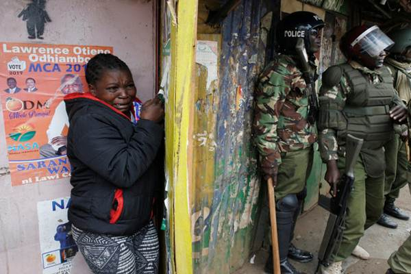 Situasi di Kenya saat Pemilihan Presiden, Sabtu (12/8/2017) - Reuters