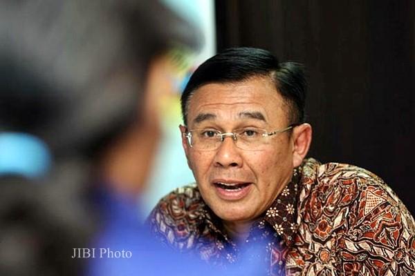 Direktur Utama PT Bank Negara Indonesia Tbk (BNI) Achmad Baiquni - JIBI/Dedi Gunawan