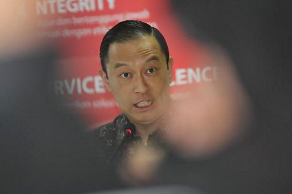 Kepala BKPM Thomas Trikasih Lembong saat berkunjung ke kantor Bisnis Indonesia, di Jakarta, Senin (7/8). - JIBI/Endang Muchtar