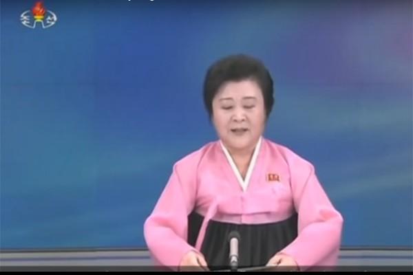 Penyiar televisi Ri Chun Hee - web