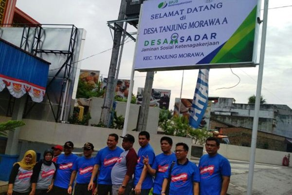 Pekerja Di Tanjung Morawa Diharapkan Dilindungi Bpjs Ketenagakerjaan Kabar24 Bisnis Com