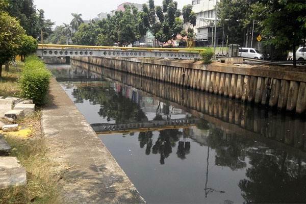 Kali Cideng di Jakarta - Antara