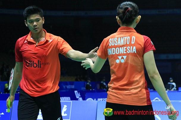 Praveen Jordan dan Debby Susanto - Badminton Indonesia