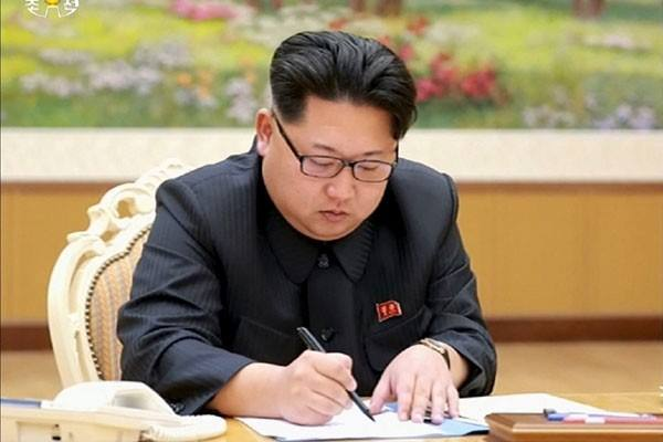 Pemimpin Korea Utara Kim Jong-un - Reuters