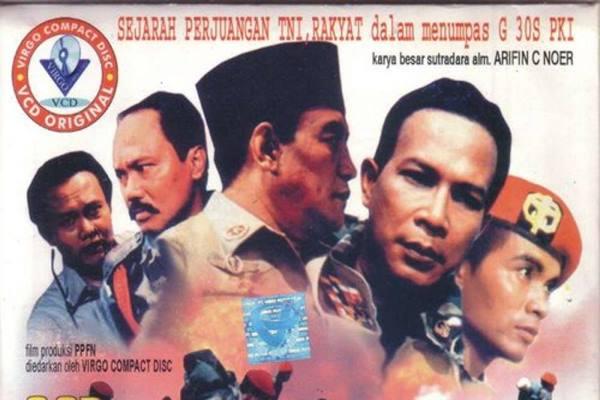 Poster film Pengkhianatan G30S PKI - Istimewa