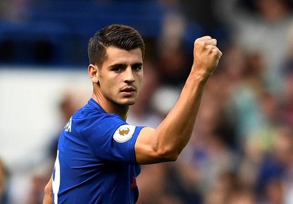 Striker Chelsea, Alvaro Morata - Reuters