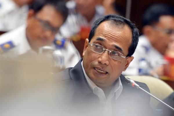 Menteri Perhubungan Budi Karya Sumadi - ANTARA/Wahyu Putro A