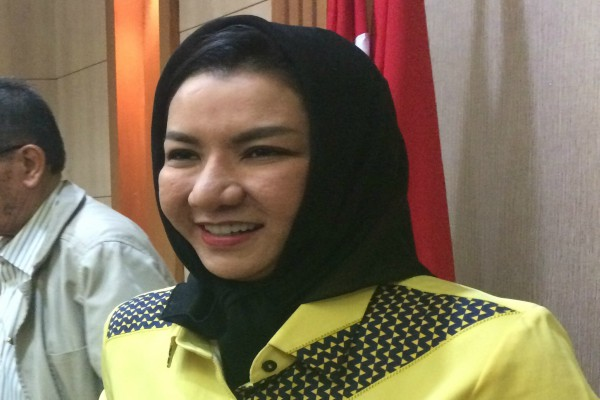 Bupati Kutai Kertanegara Rita Widyasari - Bisnis/M. Yamin