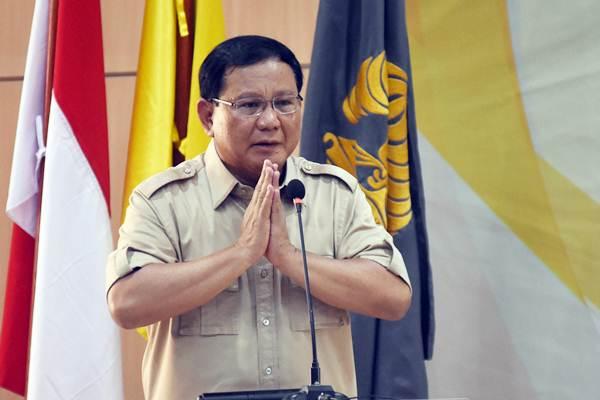 Ketua Umum Partai Gerindra Prabowo Subianto  - ANTARA/Indrianto Eko Suwarso