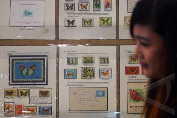 Pameran perangko - Antara