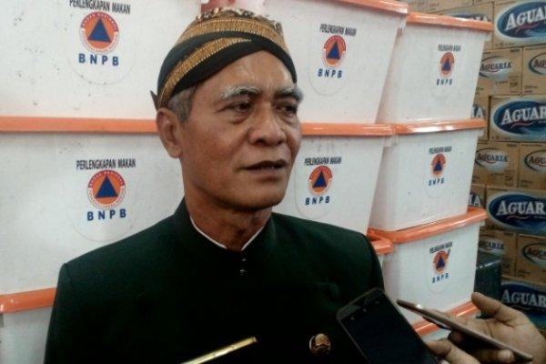 Kepala BPBD Provinsi Jateng Sarwa Permana. - Alif N. Rizqi