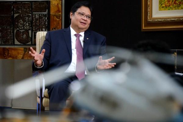 Menteri Perindustrian Airlangga Hartarto - JIBI