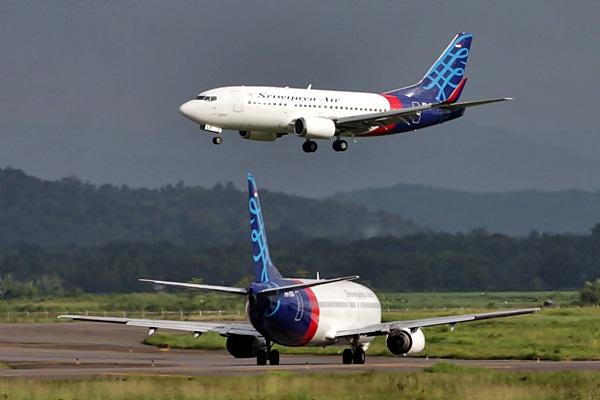 Pesawat Sriwijaya Air - JIBI/Paulus Tandi Bone