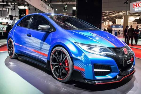 Honda Hadirkan Civic Type R Brilliant Sporty Blue Metallic ...