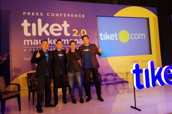 Peluncuran logo baru Tiket.com