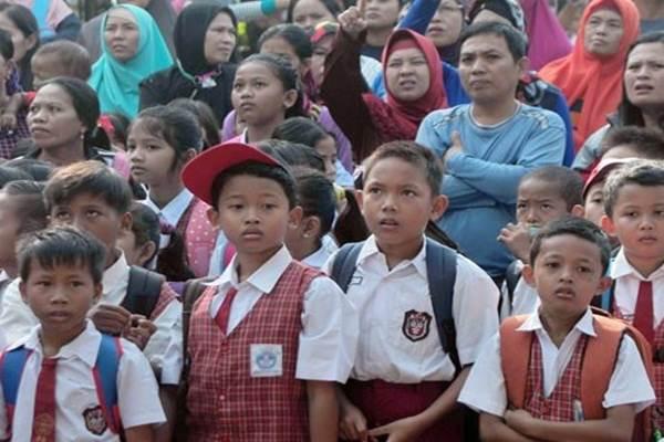Hari pertama sekolah - Antara