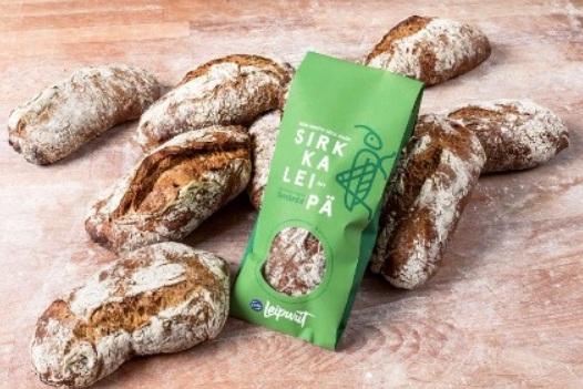 Roti Fazer berbahan jangkrik - Fazer Bakery