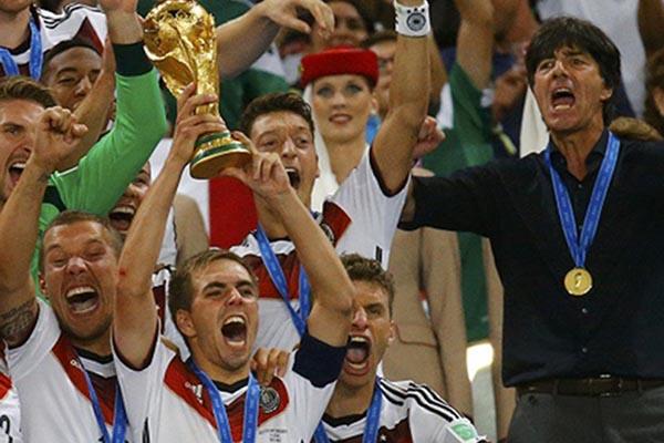 Timnas Jerman juara Piala Dunia 2014 - Reuters