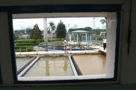 //ILustrasi/ - pengolahan air bersih