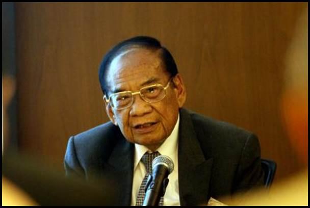 Chairperson and President Sahid Group Sukamdani Sahid Gitosardjono - Bisnis/Dwi Prasetya
