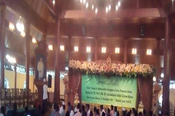 Santri dan jamaah tahlilan di Ponpes Sahid di Bogor. - Bisnis.com/M.G Novriarizal